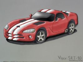 Viper SRT10 Red by SomethingWild7