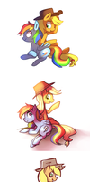 Two Years of Ponies by Karzahnii
