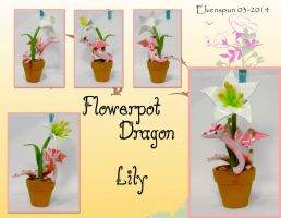 Flowerpot Dragon - Lily by MalaCembra