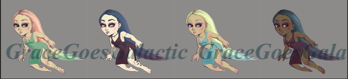 OPEN - Adoptables Chibis by GalacticGraceArtwork