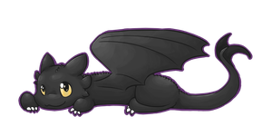 Toothless by Bienoo