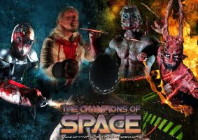 The Champions of Space (make-up FX: Ari Savonen). by NSFF