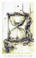 My Life in a Sand Clock by Deino