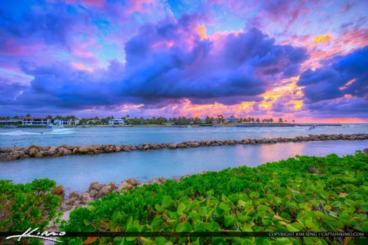 Jupiter-Inlet-Dark-Clouds-at-Sunrise by CaptainKimo