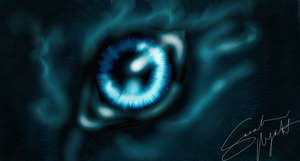 Epic Wolf Eye by Okhorse21