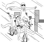 Draw The Squad Meme (Base) : Bicycle by QueenCookieMonster