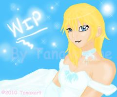 WIP-Request9- Disney Namine by Tanaxanime