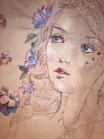 Embroidery- Spring by Cymbeline