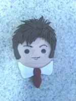 Doctor Who Tenth Doctor refrigerator magnet by KitschyCustomCrafts