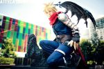 Kingdom Hearts Cloud Again by Attyca