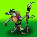No.2 Rattus the Spear by tombola1993