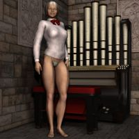 2of5 2of Gloria organ students by MuscleWomen-Planet