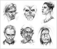 SW Characters: Classic by Callista1981