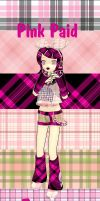 MMD Pink Plaid Textures by mbarnesMMD