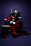 Joker and Harley Quinn - Comedy and Tragedy by Enasni-V