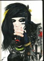 Andy Biersack by The-Shadow-artist