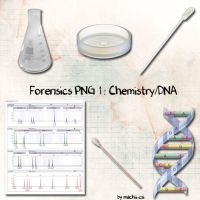 Forensics PNG 1 :Chemistry-DNA by Machii-csi