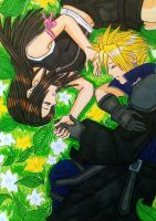 Cloud x Tifa: By your side... by dagga19
