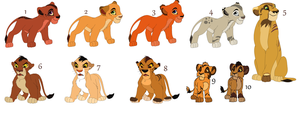 Cheap TLK Adoptables (Closed) by TrueLightPortal