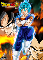 Poster Fusion Vegetto Dbs by jaredsongohan
