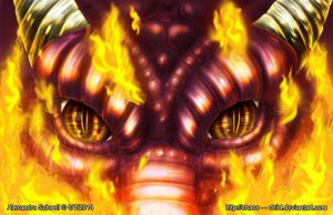 The Dragon by Chaos--Child