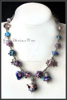 Teaparty necklace by Faeriedivine