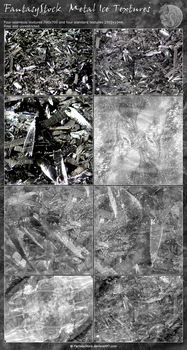 Icy Metal Texture Pack by FantasyStock