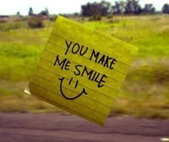 You make me smile by CarlyLiz23