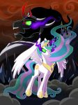 The Corruption of Celestia by LeStrangeLady