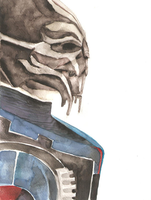 ME: Turian Councilor by moneeka