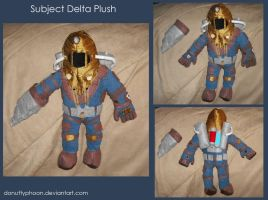 Subject Delta Plush by DonutTyphoon