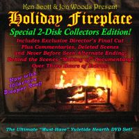 Holiday Fireplace DVD - NEW by JonWoods