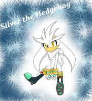 Silver the Hedgehog by chi171812