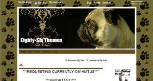 A Puggy Multiply Theme by chantal86
