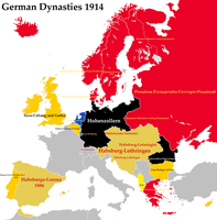 German Dynasties 1914 by VittorioMatteo