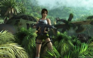 Lara Croft 88 by Nicobass