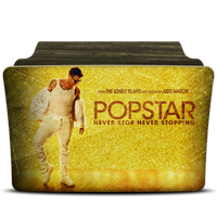 Popstar never stop never stopping folder icon by PanosEnglish