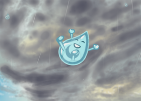 Willy the Waterdrop by BrittanyJustus