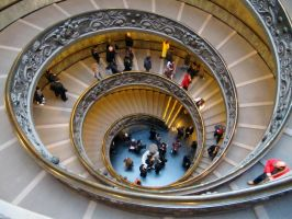 spiral staircase by Bernini 1 by Itapao