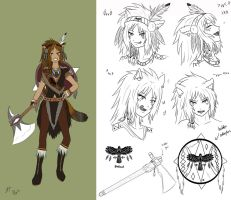 TBK - Kachina Blackhawk concept art by Athyra
