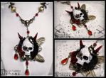 ''Death's Door'' Necklace by Necrosarium