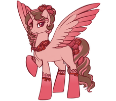 Strawberry Choco Cake  Auction  (Closed) by Crystal-Comb
