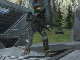 Tex in Halo Reach by KATTALNUVA