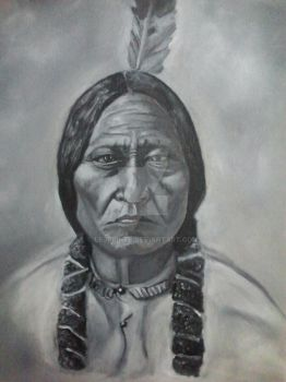Sitting Bull by LEJprints