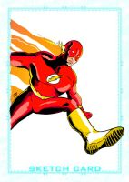 Sketch Card - The Flash by craigdeboard111