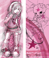 Bookmark - Pink by rococo