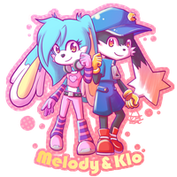 Commission - Melody and Klo by 666azarashi666