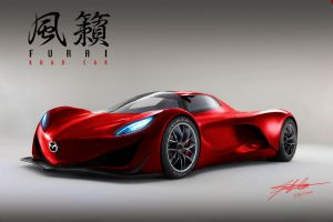 Furai Road Car by wingsofwar