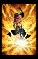 Sinestro by Jason Metcalf and Todd Rayner by JasonMetcalf