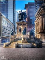 Frankfurt a.M. - Goethe Square by Denis90